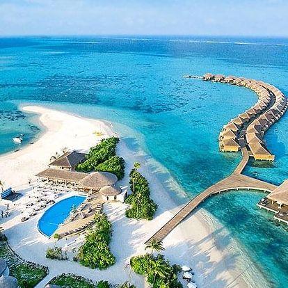 Maledivy letecky na 8-16 dnů, all inclusive