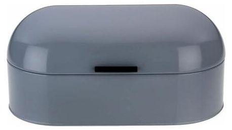 Chlebovka FRISCO kov, šedá 44x21,5x22cm