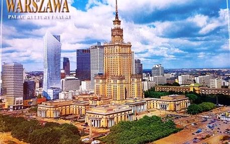 Polsko - Warszawa na 4-7 dnů, polopenze