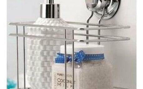 COMPACTOR Polička do koupelny bez vrtání Compactor - Bestlock systém, nosnost až 6 kg, 18,5 X 13,2 X 20,3, RAN4682