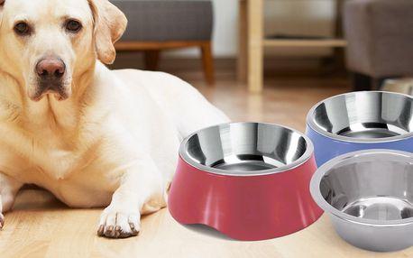 Nerezové misky pro psy a kočky: 900–2800 ml