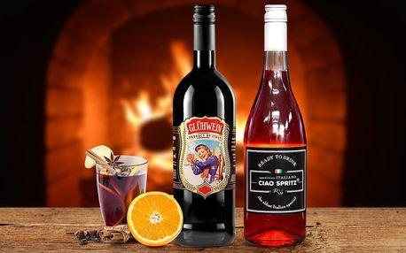 Italské svařené víno nebo aperitiv Ciao Spritz