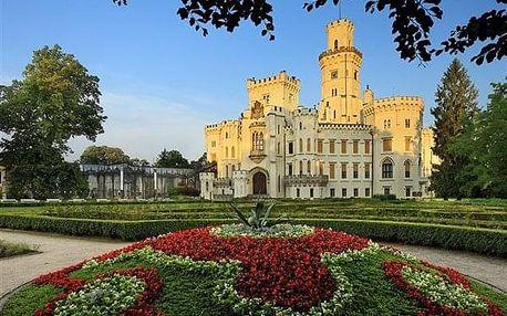 Hluboká nad Vltavou na 3-31 dnů, snídaně v ceně
