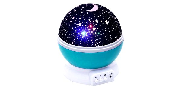 Projektor noční oblohy Deluxe, modrá5