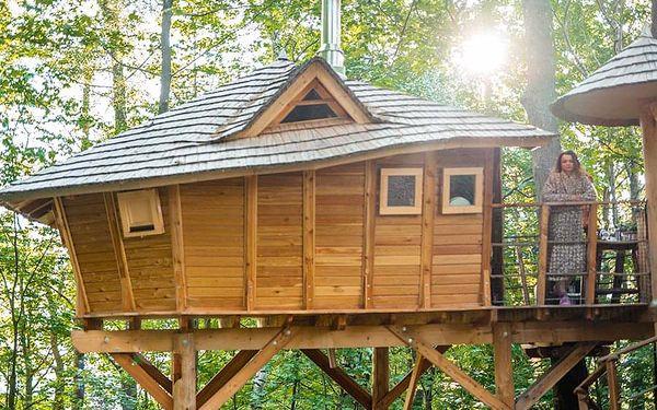 Rodinný pobyt v treehouse   Dolní Morava   Celoročně do min.teploty -5 stupňů C.   2 dny/1 noc.4