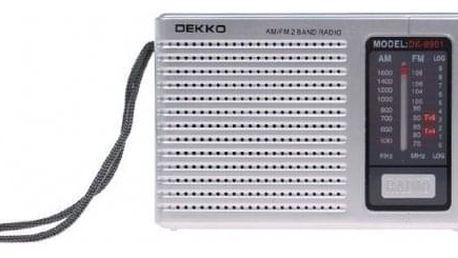 Přenosné kapesní rádio DK0901