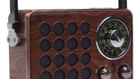 Přenosné retro rádio MK-613