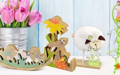 Ozdobte si na Velikonoce stůl, květináče i zeď
