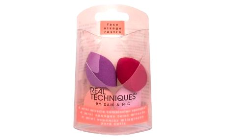 Real Techniques Sponges Miracle Complexion Mini 4 ks set mini houbiček na make-up pro ženy