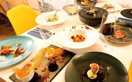 11chodové menu od kuchaře s michelinskou praxí