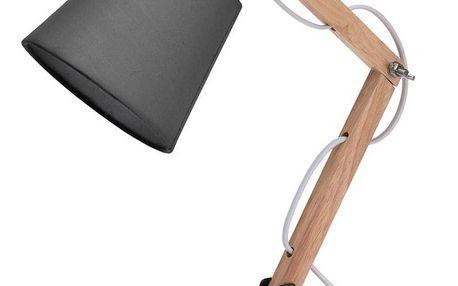 Stolní lampa Pastel tones šedá, 45 cm