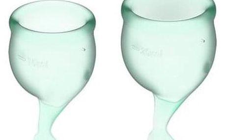 Satysfier Menstruační kalíšky 2 ks, zelená
