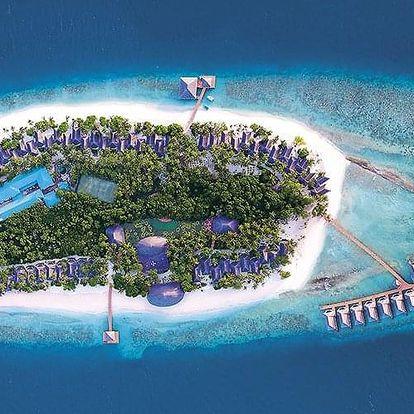 Maledivy letecky na 8-15 dnů, plná penze