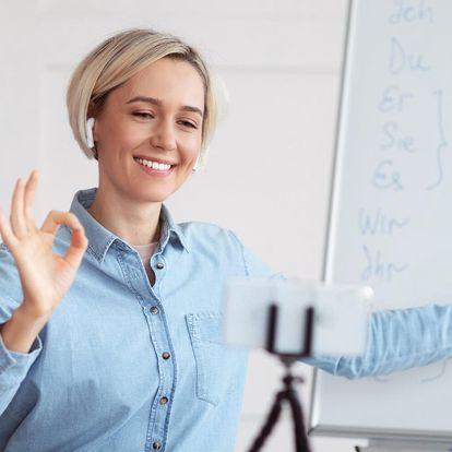 Online skupinové lekce němčiny, španělštiny, ruštiny