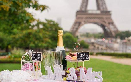 Valentýn v Paříži se sektem do páru