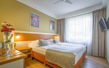 Pobyt v klidné části Prahy s krásným výhledem v Hotelu Aida **** se snídaněmi formou bufetu