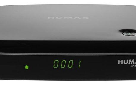 HUMAX NANO T2 PŘIJÍMAČ HEVC HBBTV USB RC