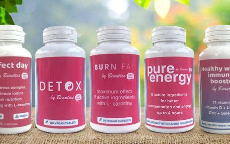 Kapsle na hubnutí i pro lepší zdraví a víc energie