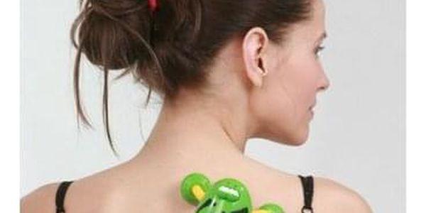 Masážní vibrační Brouk zelený - BI 412