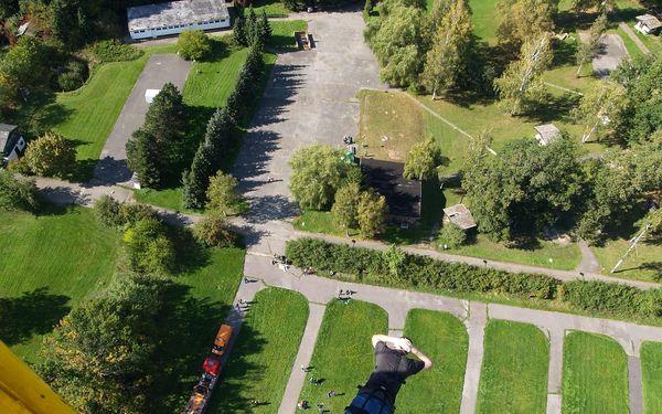 Seskok z jeřábu (výška 50 m), lokalita dle výběru: Plzeň, Praha, Olomouc, Ostrava, Brno2