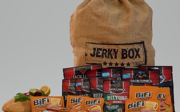Dárkový pytel plný jerky Jack Link's – XL