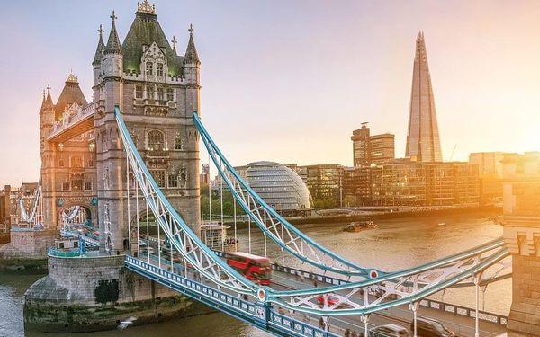 Po památkách Londýna s návštěvou ateliérů Harryho Pottera