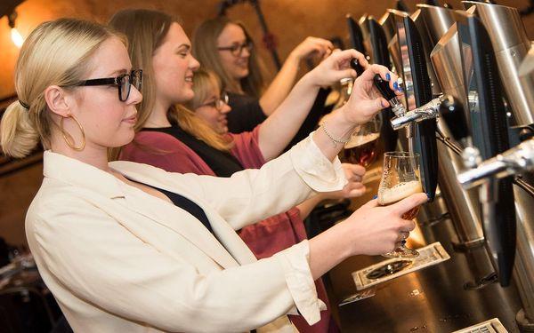 Otevřené vouchery na degustaci piva, jídlo i nealko