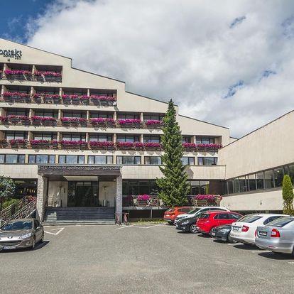 Wellness pobyt s polopenzí a neomezeným vstupem do wellness centra, Vysoké Tatry