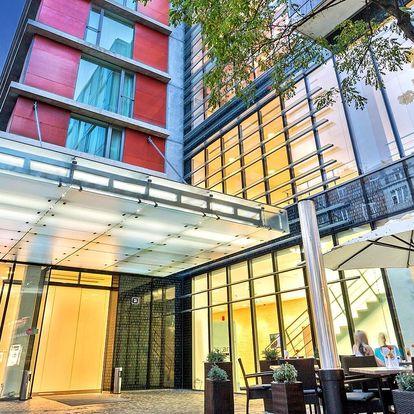 4* designový hotel v Praze: pobyt pro rodinu i pár