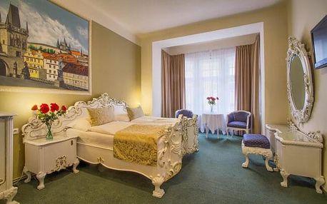 Praha přímo v centru na Vinohradech a blízko památek v Hotelu Taurus **** se snídaní formou bufetu
