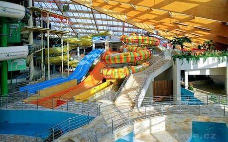 Rodinný víkend v aquaparku Praha + ZOO Praha