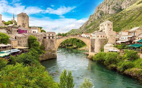Kouzlo orientu a přírodní krásy Bosny a Hercegoviny