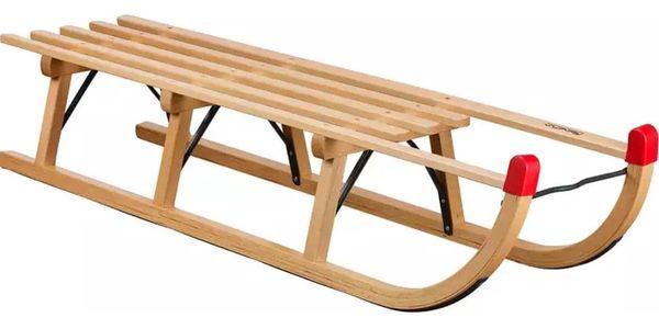 Sáně dřevěné VT-SPORT Davos délka 120 cm