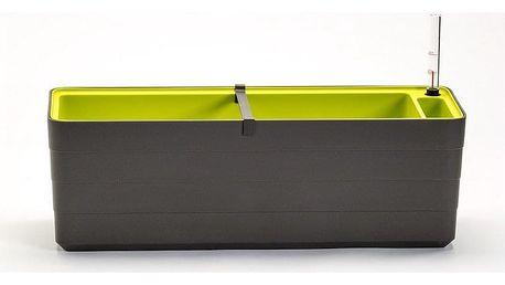 Plastia Samozavlažovací truhlík Berberis 60, antracit + zelená