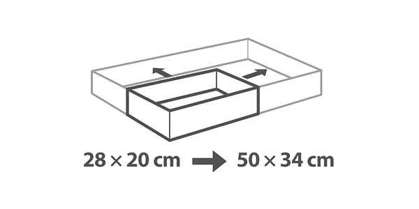 Tescoma Nastavitelná forma na dort DELÍCIA,3