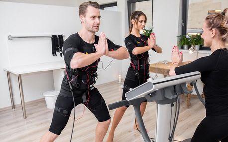 EMS trénink s trenérem: až 5 lekcí pro 1 či 2 os.
