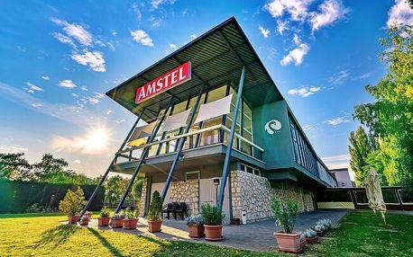 Maďarsko: Historický Györ v Hotelu Amstel **** s neomezeným vstupem do sauny a polopenzí + 2 děti zdarma