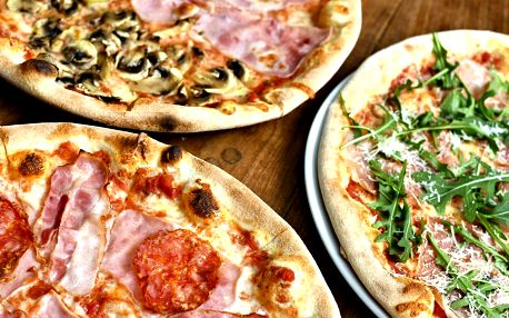 Pizza nebo těstoviny podle výběru pro 2 osoby