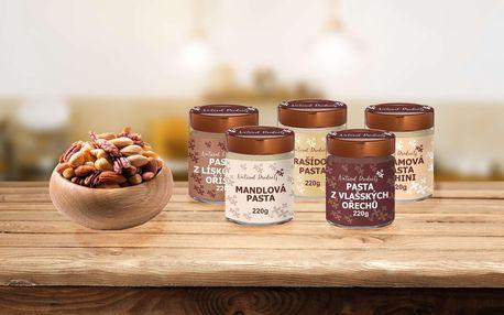 Ořechové pasty v RAW kvalitě v několika příchutích