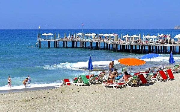 Hotel Vella Beach, Turecká riviéra, letecky, all inclusive2
