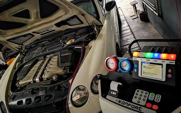 Plnění klimatizace automobilu (R134a nebo HFO-1234yf)3