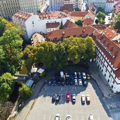 Praha letecky na 3-8 dnů, snídaně v ceně