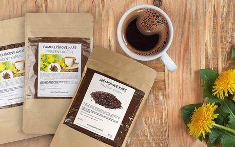 Zdravé kafe bez kofeinu z ječmene či pampelišky
