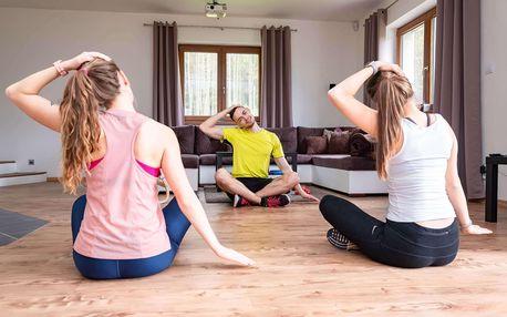 Masáž nebo osobní trénink u vás doma nebo venku