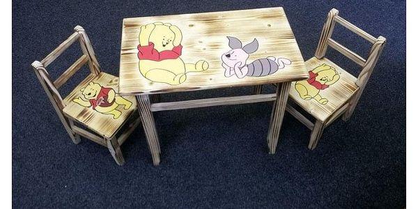 Dřevěná dětská sestava AD 230 - 232