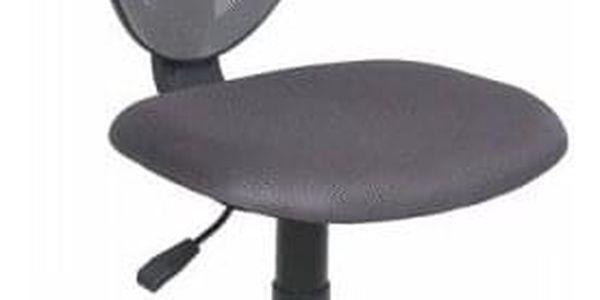 Dětská otočná židle STRAKOŠ Spike - černá