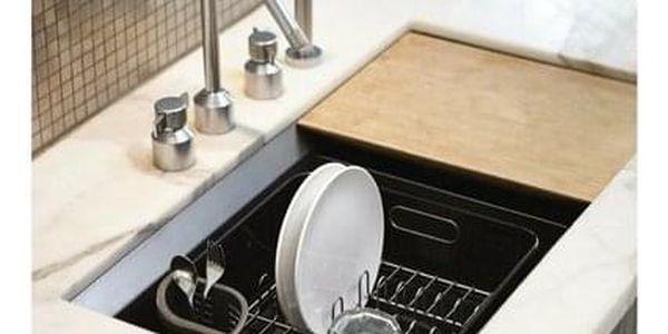 Simplehuman Odkapávač na nádobí Compact, černá5