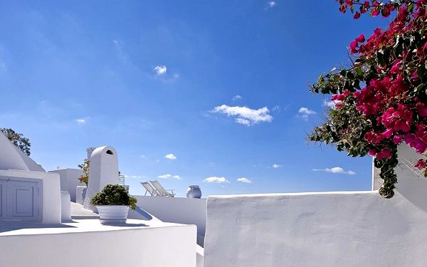 CLIFFSIDE SUITES, Santorini, vlastní doprava, snídaně v ceně4