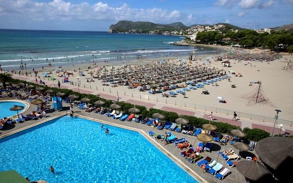 BEVERLY PLAYA, Mallorca, letecky, all inclusive2