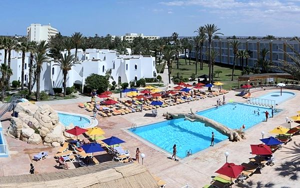 RUSPINA, Tunisko (pevnina), vlastní doprava, all inclusive2